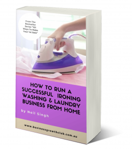 free ebook how to start your own ironing washing and laundry business working from home