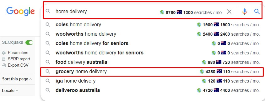 searches grocery home delivery start your own business working from home services