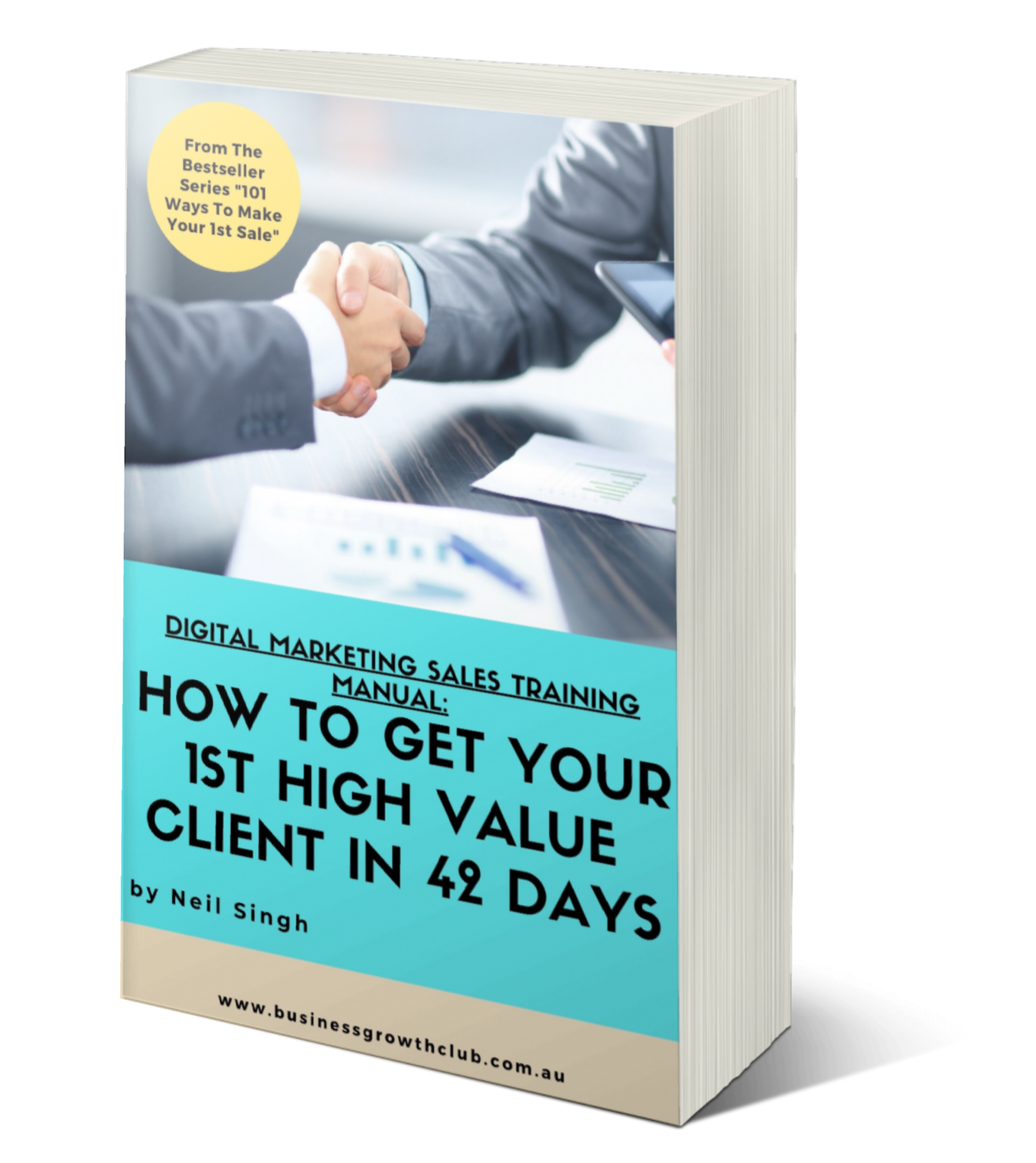 Sales Training Manual How to get your 1st digital marketing client cover (3)