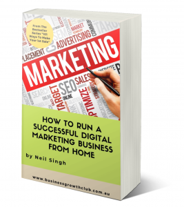 free ebook how to Digital Marketing business working from home