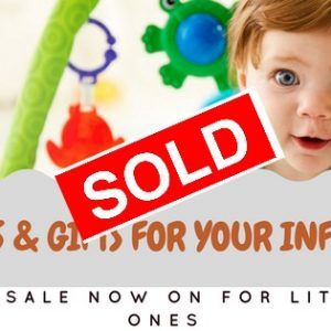 SOLD sell infants and kids toys and clothes products start your home business dropship store today