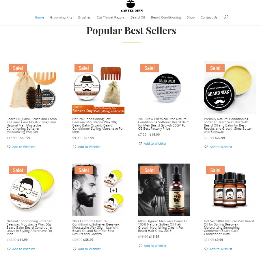Start Your Own Online Drop Ship Store Selling Mens Grooming Products Working From Home Today Business Growth Club